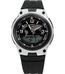 reloj aw-80-1a2 casio negro