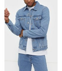 dr denim roy trucker jacket jackor blue