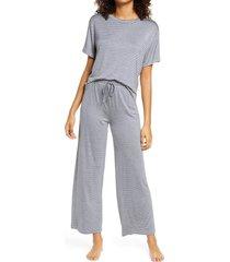 women's honeydew intimates all american pajamas, size x-large - blue