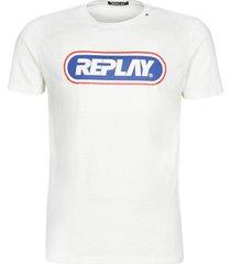 t-shirt korte mouw replay lanini