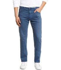 men's ag tellis slim fit jeans, size 40r - blue/green