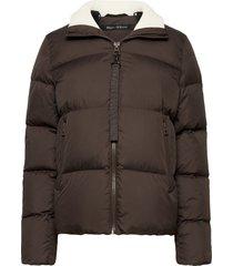 woven outdoor jackets fodrad jacka röd marc o'polo