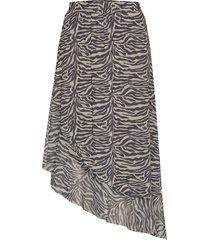 sl jewel skirt knälång kjol multi/mönstrad soaked in luxury