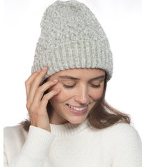 charter club chenille beanie, created for macy's