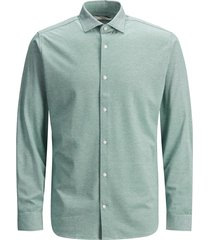 jack & jones 12183782 oxford overhemd sea pine -