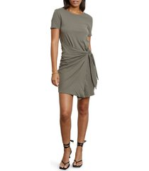 women's rails edie tie waist t-shirt dress