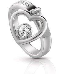 anillo guess princess /ubr85047-54 - plateado