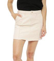falda only safari beige - calce regular