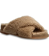 slipper 6075 shoes summer shoes flat sandals beige billi bi