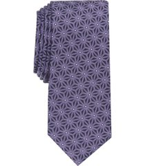 alfani men's logan slim geo tie, created for macy's