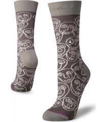 calcetin mujer travel & walk light socks gris lippi