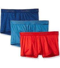 boxer micro stretch  trunk 3pk multicolor calvin klein