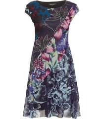 vest cleveland korte jurk multi/patroon desigual