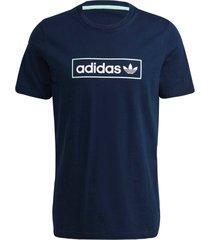 t-shirt linear logo tee