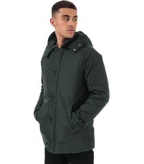 mens traditional consort hooded oxford jacket