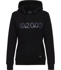 2003 hood hoodie trui zwart superdry