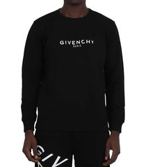 givenchy black logo sweatshirt