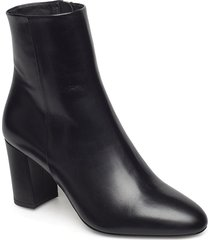 miranda high bootie shoes boots ankle boots ankle boot - heel svart filippa k