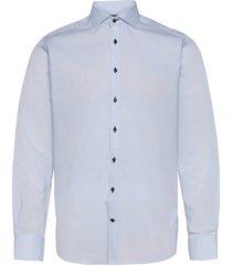 bs djemba skjorta casual blå bruun & stengade