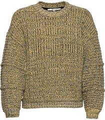 stephigz pullover ma20 gebreide trui geel gestuz