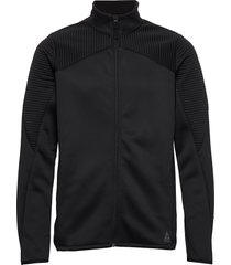thermowarm track jacket sweat-shirt trui zwart reebok performance
