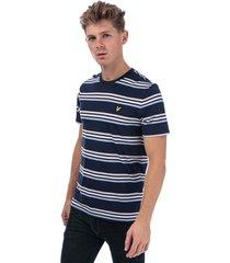 mens multi stripe t-shirt