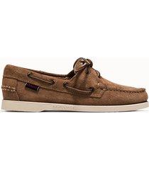 sebago scarpe portland docksides flesh out colore marrone