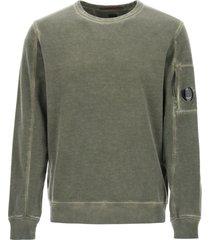 c.p. company lens light fleece garment sweatshirt