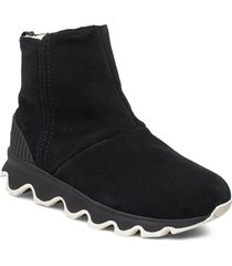 kinetic short shoes boots ankle boots ankle boots flat heel svart sorel