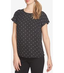 cece dot print top