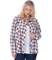 camisa natural portofem madeira talles grandes