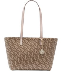 dkny bryant signature tote, created for macy's