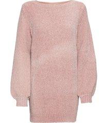 maglione lungo in ciniglia (rosa) - rainbow