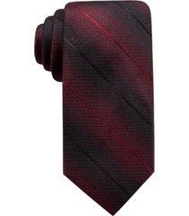 ryan seacrest distinction men's bradley slim ombre stripe silk tie, created for macy's
