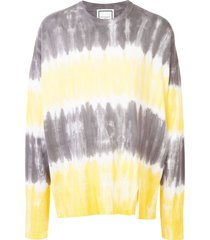 wooyoungmi tie-dye relaxed jumper - multicolour
