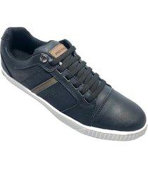sapatênis ped shoes casual detalhe masculino - masculino