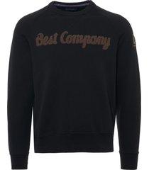 best company felpa girocollo sweatshirt - nero 692010-918