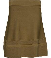 gavriella knit skirt knälång kjol grön morris lady