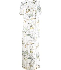 chalayan day dress - white