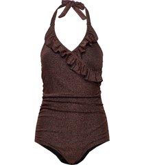 swim suit baddräkt badkläder brun sofie schnoor