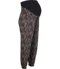 pantaloni prémaman in jersey elasticizzato (nero) - bpc bonprix collection