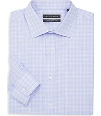 classic fit accent check dress shirt