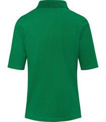 poloshirt van 100% katoen met korte knoopsluiting van day.like groen