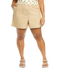 bp. athletic shorts, size 3x in beige nougat at nordstrom