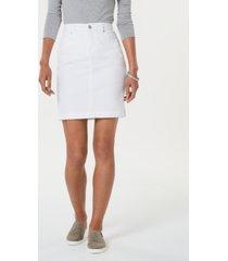 style & co petite denim skirt, created for macy's