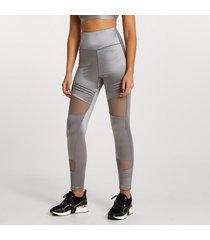 river island womens grey ri active mesh panelled leggings
