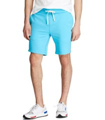 "polo ralph lauren men's 9.5"" cotton-blend-fleece shorts"