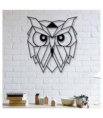 escultura de parede a laser face owl único