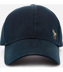 ps paul smith men's zebra baseball cap - navy