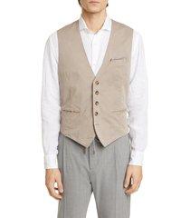 men's eleventy solid vest